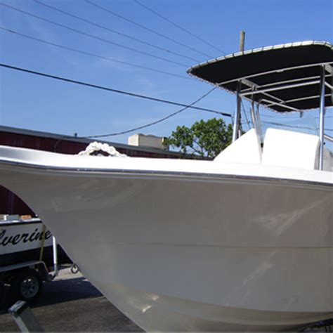 Fiberglass Boat Repair New Braunfels by Portside Of The Seafox Has Been Repaired Strengthened