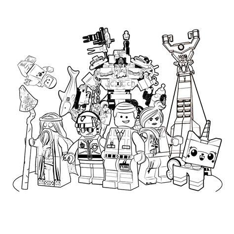 lego movie 0004 coloring pages lego movie coloring