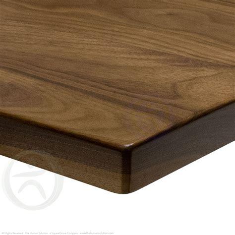 black walnut desk top adjustable height desk