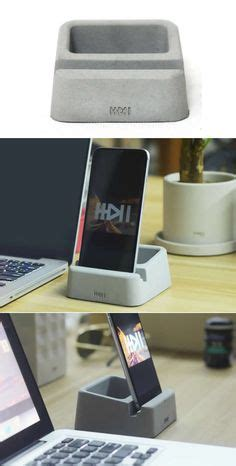 Micros Help Desk South Africa by Phone Holder Pen Pencil Holder Concrete Desktop Organizer