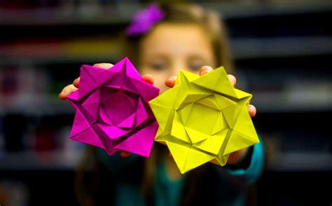 fold  easy origami flower art  kids hub