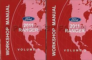2009 Ford Ranger Truck Service Shop Repair Set 2 Volume Set And The Electrical Wiring Diagrams