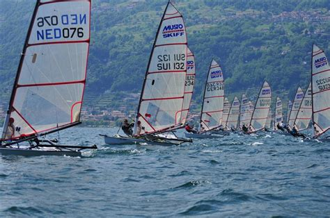 Skiff Weather by Musto Skiff Regatta At Dongo Lake Como Italy