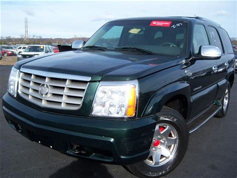 Used 2002 Cadillac Escalade Sport Utility ,790.00