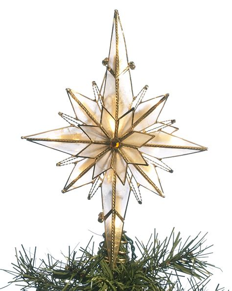 bethlehem star tree topper personalized ornament