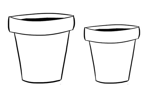Clay Pot Clipart Black And White 4 » Clipart Station
