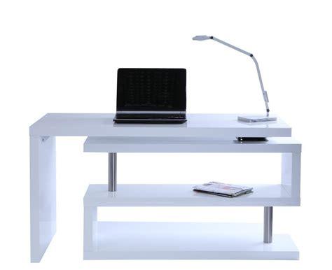 bureau d angle laqu blanc bureau d 39 angle blanc laqué fly bureau idées de
