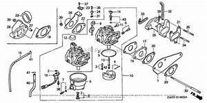Honda Engines Gx360k1 Es23 Engine  Jpn  Vin  Ga01
