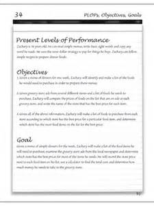 Writing IEP Goals and Objectives Examples