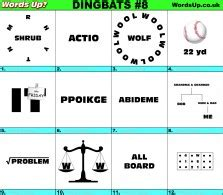 Burn the midnight oil 9. Words Up? Dingbats | Over 610 Rebus Puzzles!