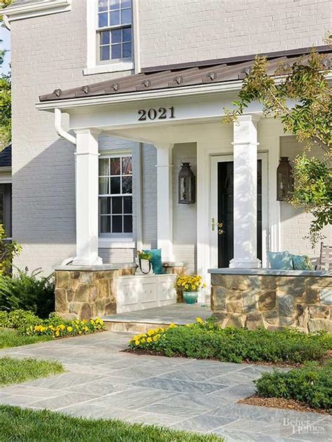 Front Porch Ideas For Homes by Small Front Porch Ideas Better Homes Gardens