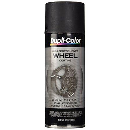 dupli color hwp104 black high performance wheel paint 12 oz walmart com