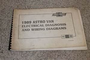1989 Chevrolet Astro Van Electrical Diagnosis  U0026 Wiring