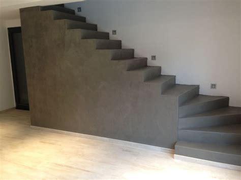 beton cire sur escalier beton 17 meilleures id 233 es 224 propos de escalier beton sur maison pin massif et