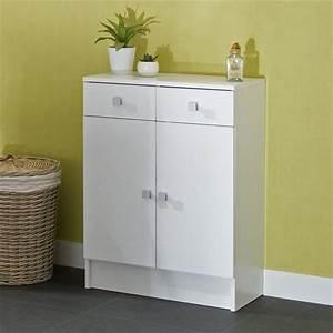 Petit Meuble Salle De Bain : petit meuble de salle de bain pas cher ~ Teatrodelosmanantiales.com Idées de Décoration