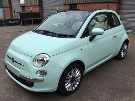 Fiat Lounge Convertible by Fiat 500c Lounge Convertible Cars For Sale Isle Of