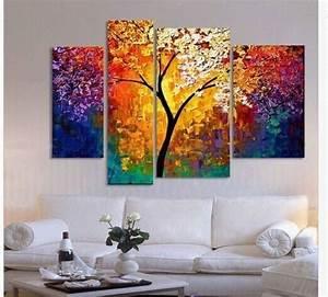 peint a la main peinture a l39huile palette couteau With peinture a l huile pour mur