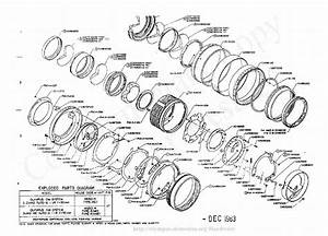 Olympus 50mm F1 4 Exploded Parts Diagram Service Manual