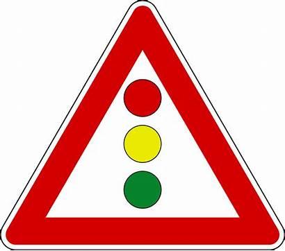 Semaforo Svg Traffic Signs Italian Verticale Road