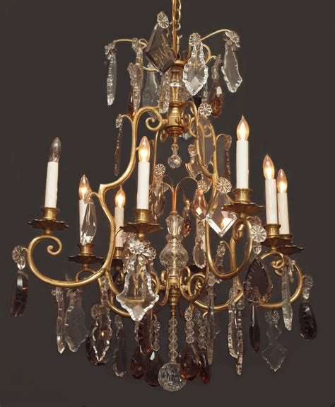 Chandelier Crystals For Sale by Antique Chandelier Chc77 For Sale Antiques