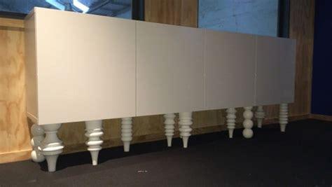 besta wall cabinets mod  sideboard ikea hackers ikea