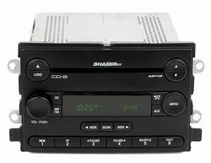 2006 Ford Mustang AM FM Stereo Radio 6 Disc CD Player Part Number 6R3T-18C815-HD - Refurbished ...