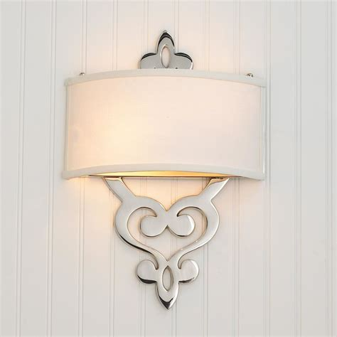 damask scroll ada wall sconce l shades by shades of