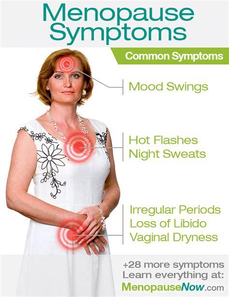 Symptômes de la ménopause | La ménopause maintenant ...