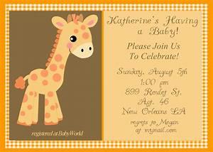 free printable baptism floral invitation template With giraffe baby shower invitations template