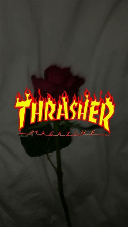 Baddie Iphone Aesthetic Thrasher Wallpapers Trasher Computer