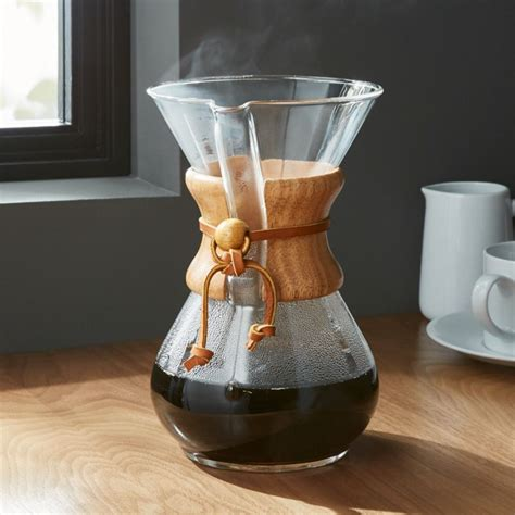 chemex  cup coffeemaker  wood collar reviews
