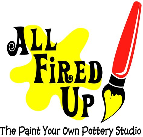 all fired up the paint your own pottery all fired up take home painting