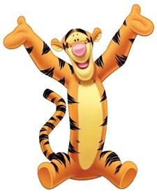 Disney Cartoon Character Tigger