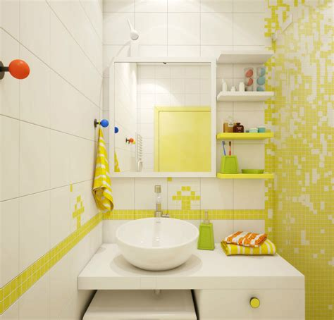 black and yellow bathroom ideas cool white yellow bathroom decor applied for small