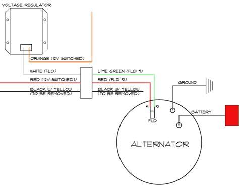 1 wire alternator wiring diagram mopar wiring diagram