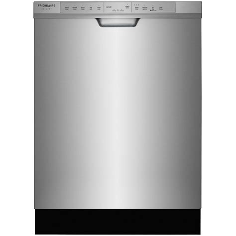 Frigidaire Gallery Front Control Dishwasher In Smudge