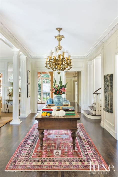 traditional cream foyer luxesource luxe magazine