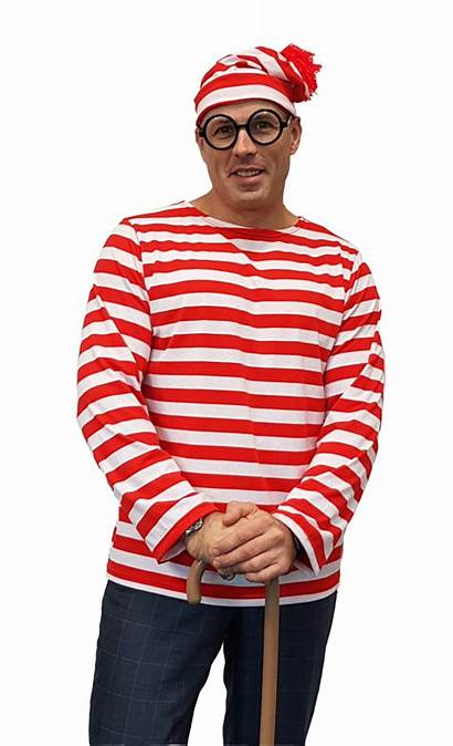 Wheres Adult Wallace Costume Waldo Costumes Mens