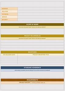 20 Statement Of Work Templates  Excel