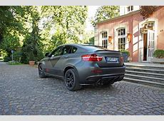 PPPerformance BMW X6 M Gets Custom Wrap at Cam Shaft