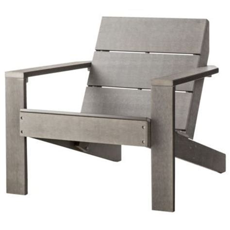 threshold bryant faux wood patio adirondack chair gray