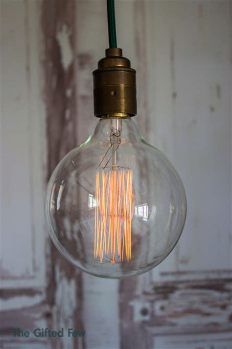 large globe squirrel cage vintage style filament