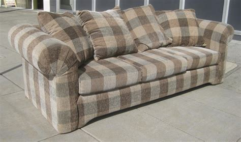 plaid sofas for sale uhuru furniture collectibles sold plaid sofa 100