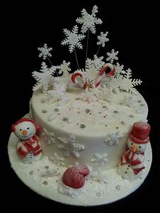 1000+ images about Christmas / Winter Cakes on Pinterest ...