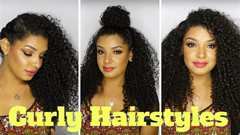 Cute & Easy Curly Hairstyles For Natural Hair