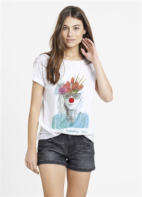 camisetas de mujer camiseta mujer quot multicolor nose quot