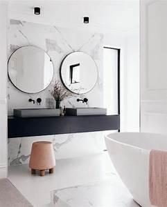 carrelage marbre salle de bain - id e d coration salle de bain carrelage effet marbre leading inspiration