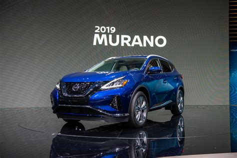 2019 Nissan Murano by 2019 Nissan Murano Maxima Debut With Updated Look