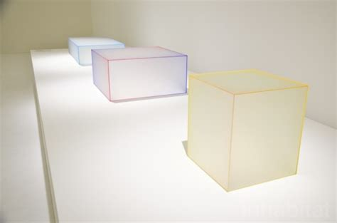 colored glass table ls japanese design firm nendo experiments with light