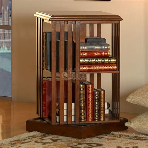 canapé bibliothèque bout de canapé bibliothèque rotative merisier massif